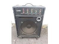 LANEY PROFESSIONAL - 4 Channel Instrament Amp + Speaker - Guitar Keyboard Amplifier