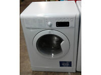 b585 white indesit 7kg&5kg 1400spin washer dryer comes with warranty can be delivered or collected