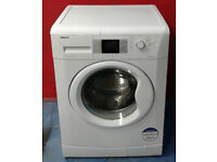 y479 white beko 8kg 1200spin A+ rated washing machine comes with warranty can be delivered