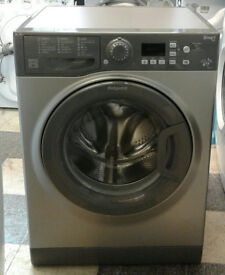 d272 graphite hotpoint 7kg 1400spin A++ washing machine comes with warranty can be delivered
