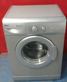 b139 silver beko 6kg 1400spin A+A washing machine comes with warranty can be delivered or collected