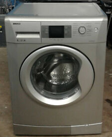 k212 silver beko 8kg 1200spin A+ rated washing machine comes with warranty can be delivered
