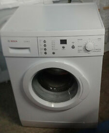 b264 white bosch 6kg 1200spin washing machine comes with warranty can be delivered or collected