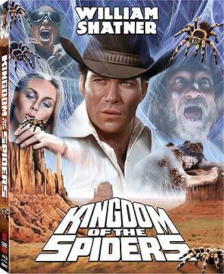 KINGDOM OF THE SPIDERS (1977) Blu-Ray CODE RED William Shatner *w/RARE SLIPCOVER