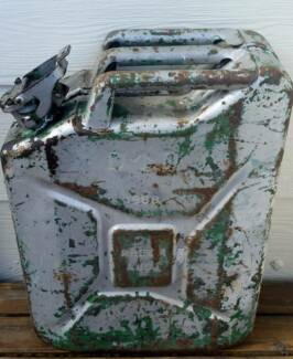 Jerry can, military 1958.