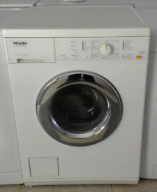 D698 white miele 5kg 1200 spin washing machine comes with warranty can be delivered or collected