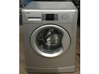 w212 silver beko 8kg 1200spin A+ washing machine comes with warranty can be delivered or collected