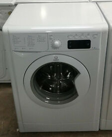 a684 white indesit 7kg 1400spin washing machine comes with warranty can be delivered or collected