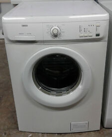 p835 white zanussi 6kg 1600spin washing machine comes with warranty can be delivered or collected