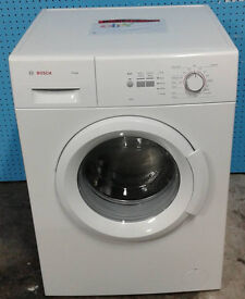 c340 white bosch 7kg 1400spin washing machine comes with warranty can be delivered or collected