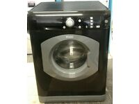 622 black/graphite hotpoint 7kg washing machine can be delivered or collected