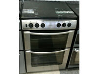 a159 stainless steel belling 60cm double oven gas cooker comes with warranty can be delivered