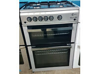 c498 silver flavel 60cm single oven gas cooker comes with warranty can be delivered or collected