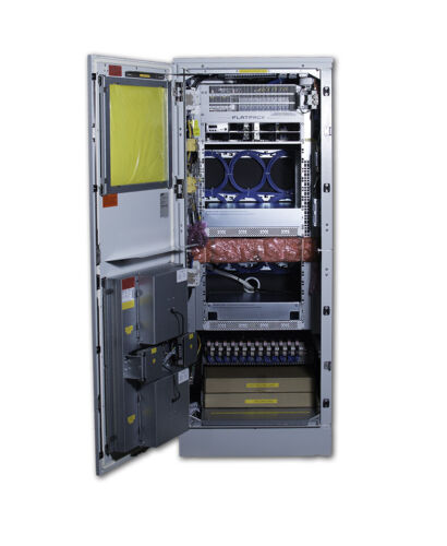 Eltek Outdoor Telecom Flatpack 2 Power and Equipment Cabinet