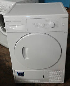 d191 white beko 6kg condenser dryer comes with warranty can be delivered or collected