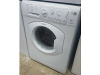 B327 white hotpoint 6kg 1600spin washing machine comes with warranty can be delivered or collected