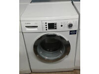 a529 white & chrome bosch 7kg 1400spin washing machine comes with warranty can be delivered