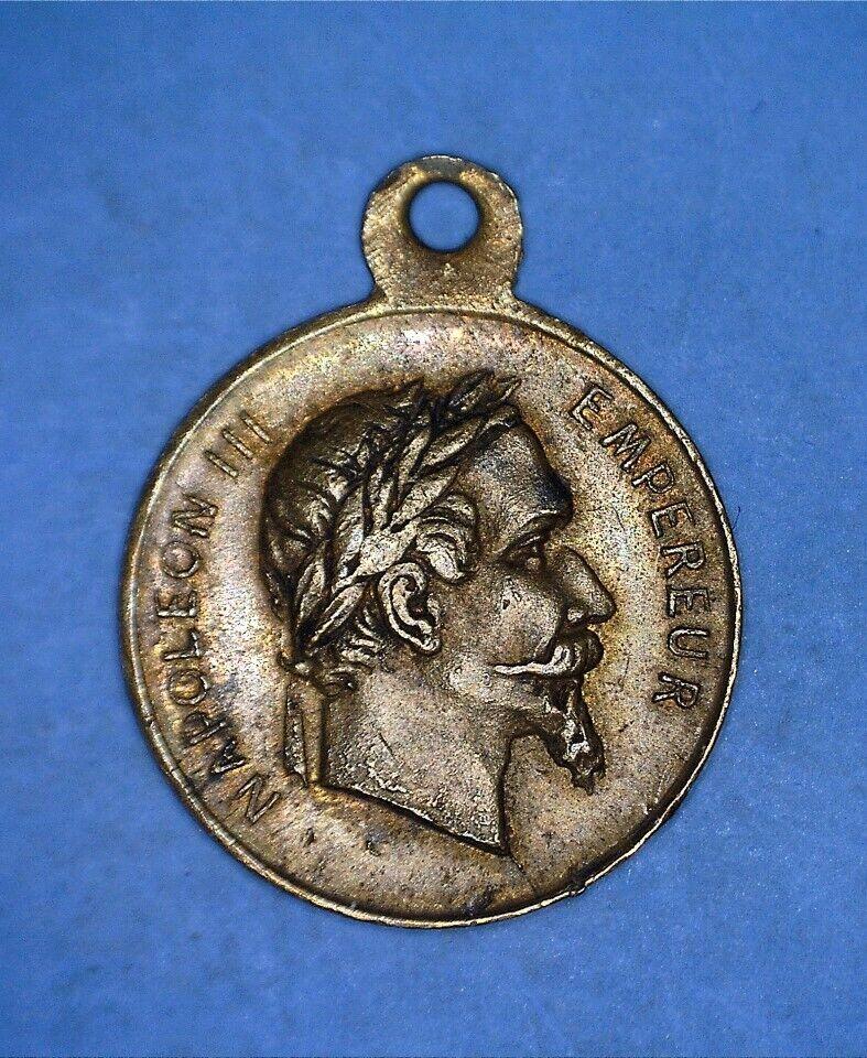 VERY TINY FRANCE MEDAL VICTOIRE DE SOLFERINO GAGNEE LE 24 JUIN 1859 - 14746865 - $6.00