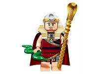 LEGO BATMAN MOVIE MINI FIGURE - KING TUT - BRAND NEW & UNOPENED