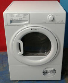 p686 white hotpoint 7kg condenser dryer comes with warranty can be delivered or collected