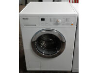 w302 white miele 6kg 1300spin washing machine comes with warranty can be delivered or collected