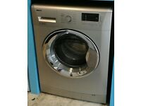 a087 silver beko 7kg 1500spin A** rated washing machine come with warranty can be delivered