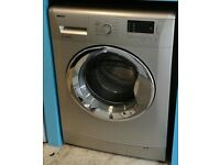 i087 silver beko 7kg 1500spin A** rated washing machine comes with warranty can be delivered