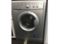 Grey Indesit washing machine & dryer, excellent condition, 3 months warranty