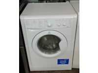 p179 white indesit 6kg&4kg 1000spin washer dryer comes with warranty can be delivered or collected