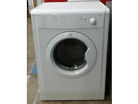 C201 White Indesit 7kg B Rated Vented Dryer, Comes With Warranty & Can Be Delivered Or Collected