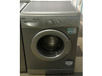 c594 silver beko 6kg 1300spin A+A rated washing machine comes with warranty can be delivered
