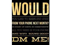 Could you do with eating some extra cash from your mobile?