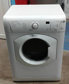 e566 white hotpoint 7.5kg set & forget vented dryer comes with warranty can be delivered