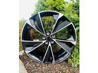 """19"""" Audi RS7 Style alloy wheels & tyres Fit - Audi A3, A4 VW MK5,6,7, Golf, Caddy, Jetta, Passat,"""