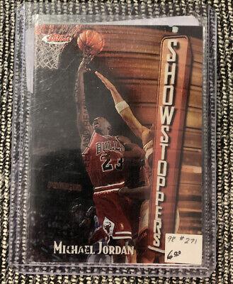 1997-98 Finest Showstoppers Michael Jordan Chicago Bulls #271