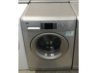 b461 silver beko 8kg 1200spin A+ rated washing machine comes with warranty can be delivered