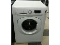 a718 white hotpoint 8kg 1600spin washing machine comes with warranty can be delivered or collected