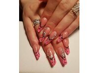 Nails gel EXTENSIONS ACRYL TIPS/ Eyelash extensions (in my home or in yr home) MOBILE