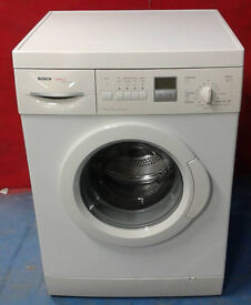 I463 white bosch 6kg 1400spin washing machine comes with warranty can be delivered or collected