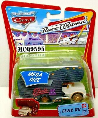 DISNEY PIXAR THE WORLD OF CARS RACE O RAMA MEGA SIZE ELVIS RV #9