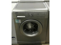 c799 silver beko 6kg 1200spin A+ rated washing machine comes with warranty can be delivered