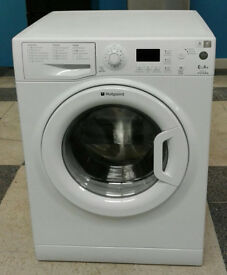 o426 white hotpoint 6kg 1500spin A+ rated washing machine comes with warranty can be delivered