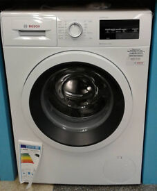 *d029 white bosch 9kg 1400spin A+++ washing machine new with manufacturer warranty can be delivered