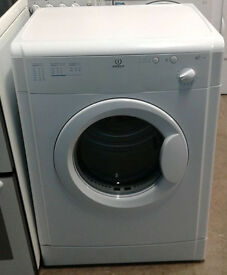 a593 white indesit 6kg vented dryer comes with warranty can be delivered or collected