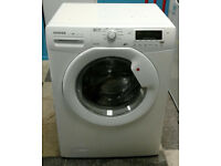 O204 white hoover 7kg 1600spin A+ rated washing machine comes with warranty can be delivered