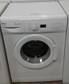 b062 white beko 7kg 1300spin A+A washing machine comes with warranty can be delivered or collected