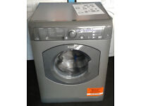 l380 graphite hotpoint 7kg 1400spin washer dryer comes with warranty can be delivered or collected