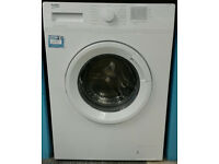 a534 white beko 6kg 1200spin A+++ rated washing machine comes with warranty can be delivered