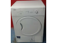 a310 white beko 7kg condenser dryer comes with warranty can be delivered or collected