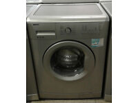 c626 silver beko 6kg 1200spin A+ rated washing machine comes with warranty can be delivered
